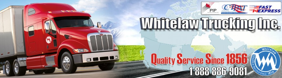 Whitelaw Trucking Freight Canada Shipping Company Woodstock Warehousing Ontario
